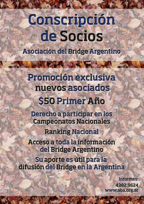 Conscripcion de Socios ABA