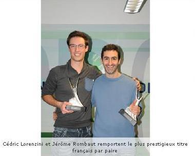 Jérôme Rombaut et Cédric Lorenzini