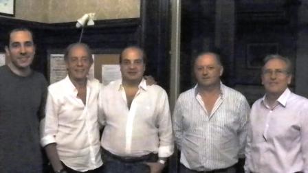 Equipo Ventin: Carlos Pellegrini, Héctor Camberos, Luis Palazzo, Walter Fornasari, Pablo Lambardi y Juan Carlos Ventin