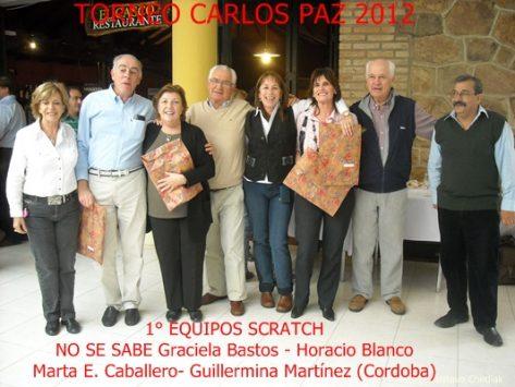 Graciela y Horacio Blanco, Martha E. Caballero, Guillermina Martinez.