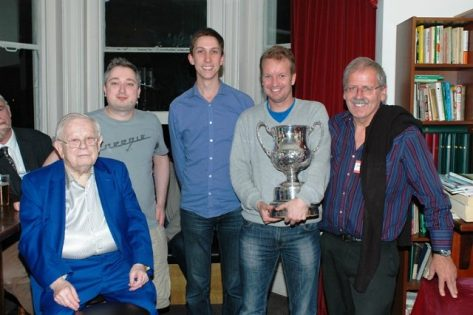 Winning Team; Mike Bell, Michael Byrne, Espen Erichsen, Norman Selway , Neil Rosen , Martin Jones.