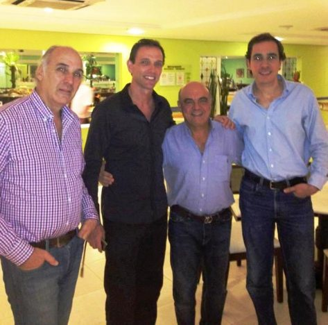 E. Muzzio-A. Bianchedi-G.Chagas y C.Pellegrini
