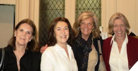 Maestras Sudamericanas: Silvia Boldt, Maria Elena Iacapraro, Gloria Iribarren y Charo Garateguy