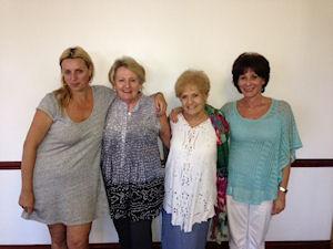 Segundas Damas - Giselle Mundell, Lynn Kalmin, Lorna lchilcik, Avril Zets