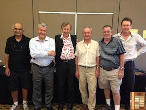Open Winners - Avi Kanetkar, Robert Krochmalik, Paul Lavings, George Bilski, Terry Brown, Matthew Thomson