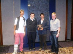 Alexander Allfrey & Andrew Robson and Peter Crouch &Tony Forrester