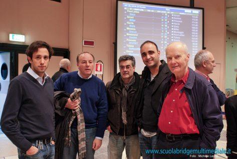 Equipo Breno: Andrea Manno, Valerio Giubilo, Massimo Lanzarotti, Mario D'avossa, Romain Zaleski