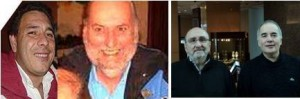 Equipo Rizzo: Ricardo Cardoni – Adolfo Revale, Nano Rizzo y Alejandro Orzabal