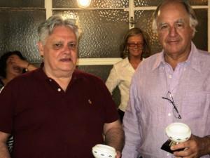 Guillermo Mooney y Martin Monsegur