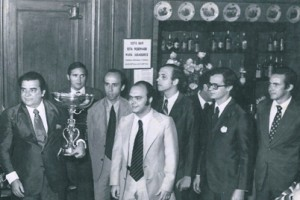 Campeonato Sudamericano 1972: Adelstano Porta d' Ave, Pedro, Gabriel, Marcelo. Gabino y Christiano.