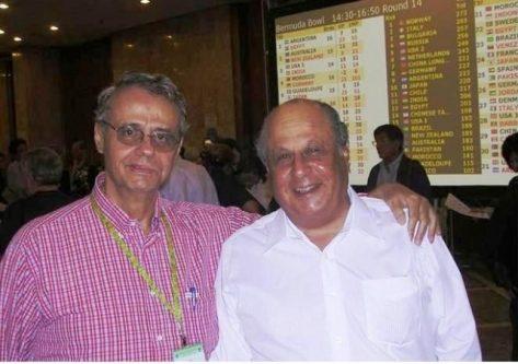 Gabino Cintra y Pedro Pablo Assumpcao