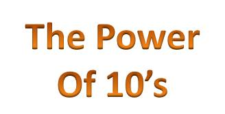 The power of 10