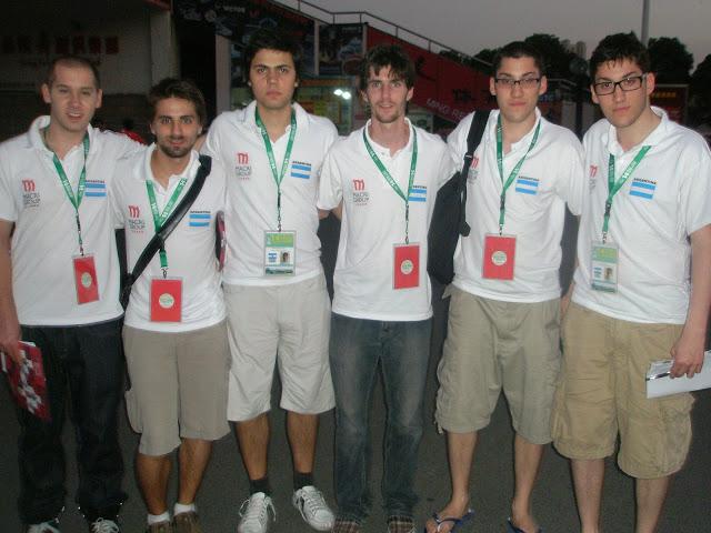 Argentina U 25: Máximo Crusizio, Francisco Montes de Oca, Rodrigo García da Rosa, Felipe Ferro, Tomás Licciardo y Lucas Licciardo