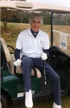Bocchi jugando Golf
