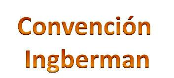 Convencion Ingberman