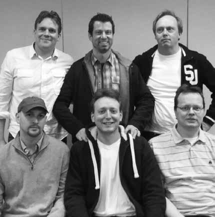 Sjoert Brink, Daniel Zagorin, Louk Verhees; Kevin Bathurst, Bas Drijver y Ricco van Prooijen.
