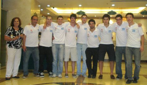 Delegación Argentina Taicang 2012