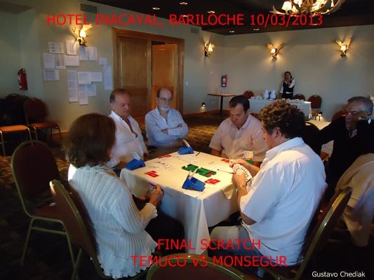 Bariloche 2013: Final Scratch Temuco-Monsegur