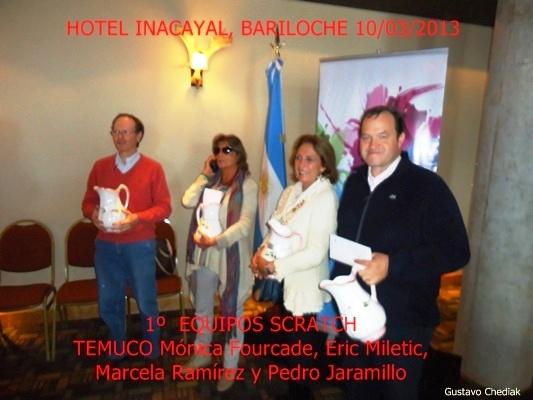 Equipo Temuco, Ganador Torneo de Equipos Bariloche 2013