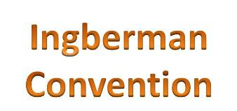 Ingberman Convention