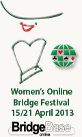Women's bridge Festival 2013 Abril
