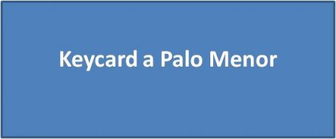 Keycard a Palo Menor