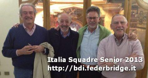 Paolo Chizzoli, Franco De Giacomi, Giampaolo Jelmoni, Alberto Leonardi, Fabrizio Morelli, Piero Zanoni