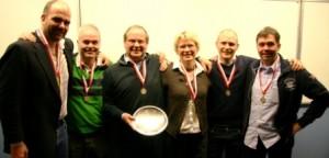 Peter, Dorthe & Martin Schaltz, Lars & Knut Blakset y Mathias Bruun