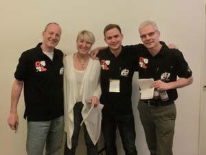 Denmark (Sabine Auken, Roy Welland, Morten Bilde, Dennis Bilde)