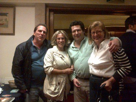 João Fanha, Ada Louro, Mari Carmen Corral e Miguel Gonçalves