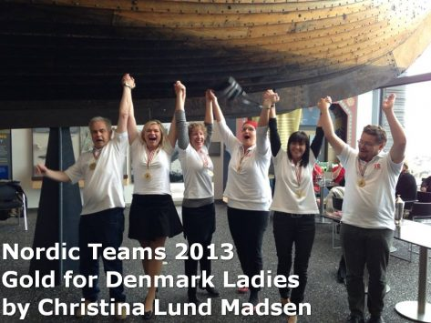 Nordic Teams 2013: Gold for Denmark Ladies