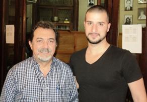 Ricardo Cohen y Cristian Cuchian