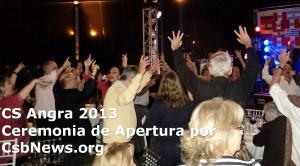 Cena-baile de Apertura de Angra 2013
