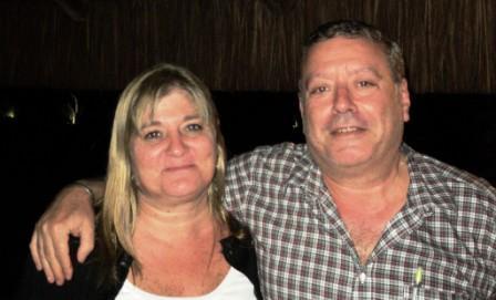 Parejas Mixtas Segundos: Maria Celia Pailhe y Roberto Vigil de Argentina