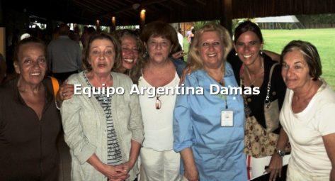Angra 2013 Equipo Argentina Damas