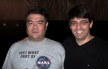 Marcos Thoma y Mauricio Figueiredo