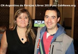 Maria Celia Paihe y Jorge Campdepadros