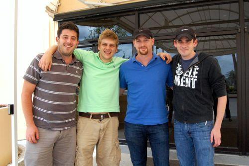 Gavin Wolpert, John Kranyak, Kevin Bathurst & Kevin Dwyer, photo by Peg Kaplan
