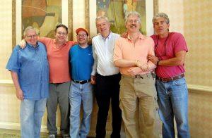Nickell Team: Frank Nickell, Ralph Katz, Eric Rodwell, Jeff Meckstroth, Bobby Levin, Steve Weinstein