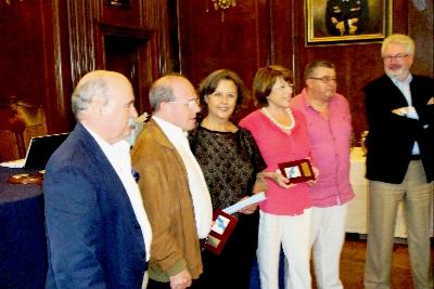 Ganadores del Open Galicia 2013: Fernando Pilarte Pilarte – María Cruz Peredo Barquín