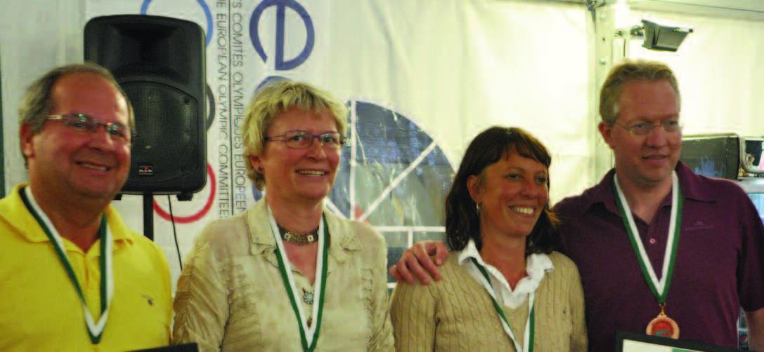 Team Schaltz came third: Peter Schaltz, Dorthe Schaltz, Nadia Bekkouche, Peter Fredin