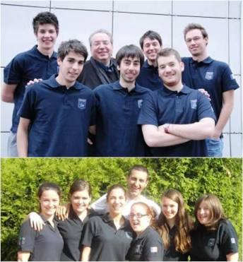 Francia Campeon Juniors y Girls 2013