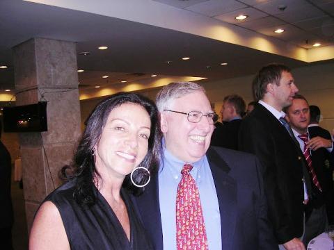 Leda Pain y Eric Kokish