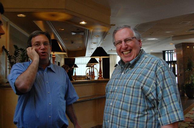 Ralph Katz and Eric Kokish, photo by Peg Kaplan