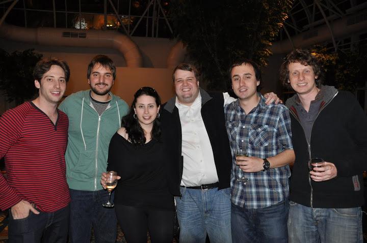 Shane Blanchard, Joaquin Pacareu, Jessica Piafsky, John Hurd, Benjamin Robles, y Eldad Ginossar