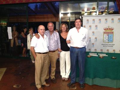 Ganadores del torneo: Ángel Balás Pedreira y Germán Vázquez-Pimentel Llamas
