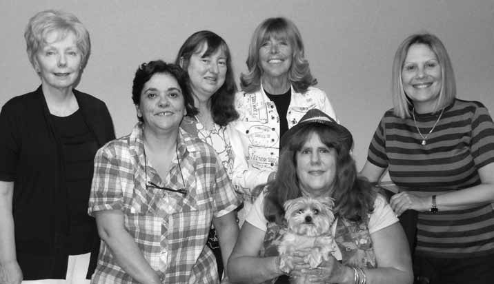 Wagar Women's KO winners: Joann Glasson, Catherine D'Ovidio, Beth Palmer, Sylvia Moss, Lynn Deas and Beth Palmer.