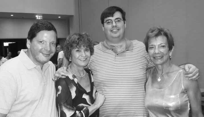Winners of the Freeman Mixed BAM: Winthrop Allegaert, Petra Hamman, David Grainger and Judy Bianco