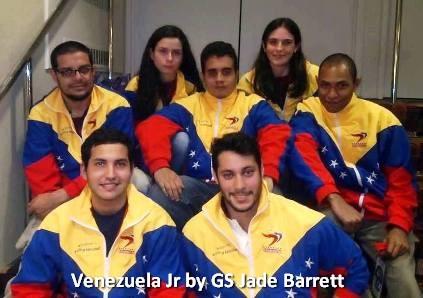 delegacion de Venezuela Junior