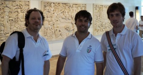 Pablo Ravenna, Agustin Madala y Gabino Alujas